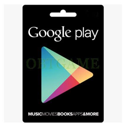 America Google Play Gift Card