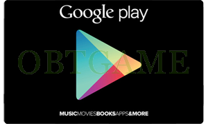 Korean Google Play Gift Card