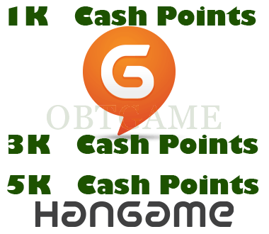 Hangame KR Cash Points