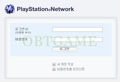 PlayStation Network Korean Account