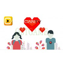 Verified Can TV 19+ Korean Account CanTV Hearts Cash Points