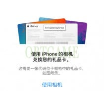 Activate Chinese Apple ID Redeem Feature