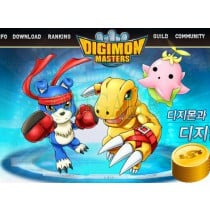 Digimon Master Online Korean Cash Points Cash Item