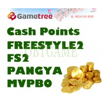 GameTree CASH SHOP CASH POINTS For FREESTYLE2 STREET BASKETBALL FS2 PANGYA MVPBO