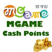 Mgame KR CASH/ITEM SHOP CASH POINTS FOR YULGANG2 HERO2 ARES DARKFALL WFFM
