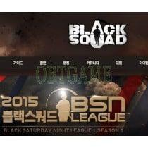 Verified Black Squad Pmang Korea Account