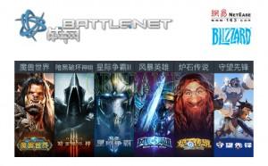 NetEase Battle.net Bilzzard.cn Poins