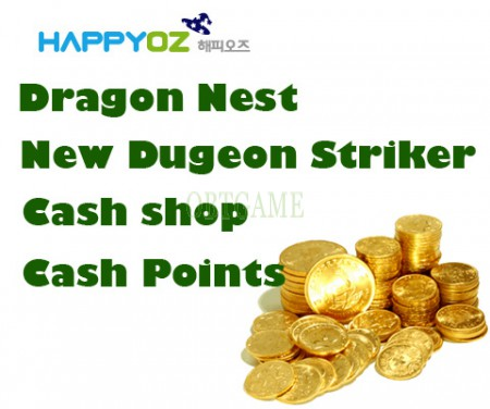 Pupugame Dragon Nest Cash Shop Cash Points